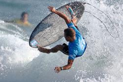 Surfing finally makes Olympic bow under blazing Japan sun