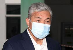 Zahid quarantining himself at home due to Covid-19