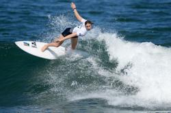 Olympics-Surfing-Gilmore waves goodbye after shock surfing loss to Buitendag