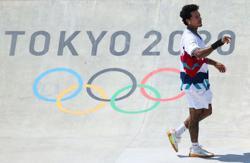 Olympics-Skateboarding-After bruising loss, skater Huston says mental health takes precedence