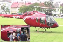 Owner of 'nasi ganja' helicopter says papers for the flight were in order