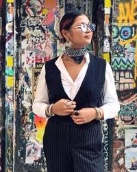 How Malaysian Nur Liyana became the first female stylist of a NY menswear brand