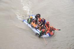 Typhoon In-fa continues path through Zhejiang
