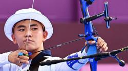 Olympics-Archery-South Korean men face host Japan in semifinal