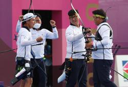 South Korean archers remain unbeatable with third Olympic gold despite scare in men's team event