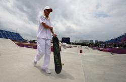 Olympics-Skateboarding-Not just tricks, skaters' fashion takes centre stage