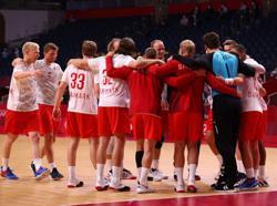 Olympics-Handball-Denmark overcome Egypt as European giants stay perfect
