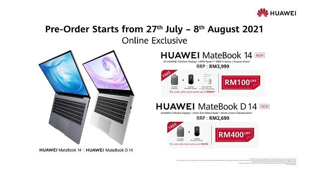 Need new gadgets to work or study from home? Check the new HUAWEI MatePad 11 and HUAWEI MateBook D15 and pre-order your units today and receive attractive gifts.