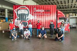 Shipping service lends helping hand to food project