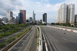 Economic hub under curfew