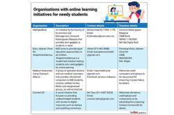 Equipping needy for e-learning