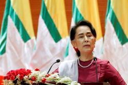 Myanmar junta cancels results of 2020 polls won by Suu Kyi's party
