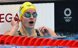 Olympics-Swimming-McKeown wins gold in women's 100m backstroke