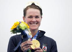 Oympics-Triathlon-Duffy's island future looks golden