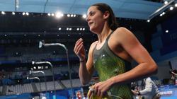 Olympics-Swimming-Australia's McKeown wins 100m backstroke gold in debut Olympics