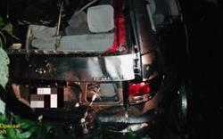 Duo escapes death after MPV plunges into ravine in Sabah
