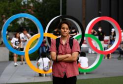 Olympics-Japanese boxer nurse revives Olympic dreams after opening show