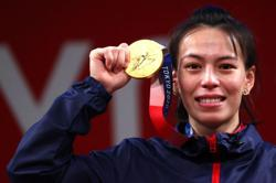 Olympics-Weightlifting-Taiwan's Kuo wins gold in women's 59kg