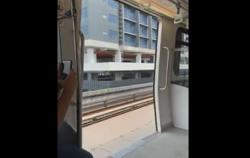 Rapid KL apologises over 'open door' incident of LRT Kelana Jaya line train