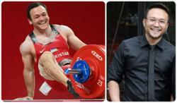 Shaheizy Sam uploads video of Uzbekistan Olympic weightlifter who looks like him