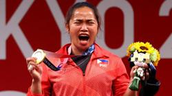 Hidilyn Diaz - Philippines' Olympic darling and first-ever gold medalist rewarded US$660,000 and a house