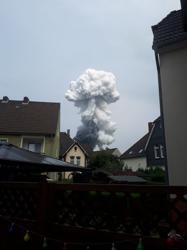 Blast in German industrial park kills two, several missing