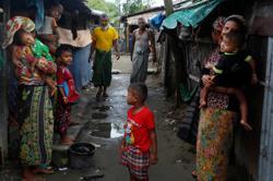 Six killed in landslide, flooding at Myanmar Rohingya camps in Bangladesh
