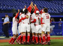 Olympics-Softball-Japan win gold in 2-0 shutdown of United States