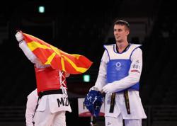 Olympics-Taekwondo-Russian Larin wins men's +80kg gold medal
