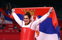 Olympics-Taekwondo-Serbia's Mandic wins women's +67kg gold medal