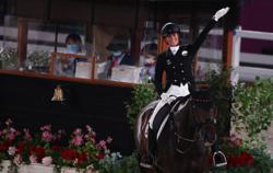 Olympics-Equestrian-Powerhouse Germany retain dressage gold