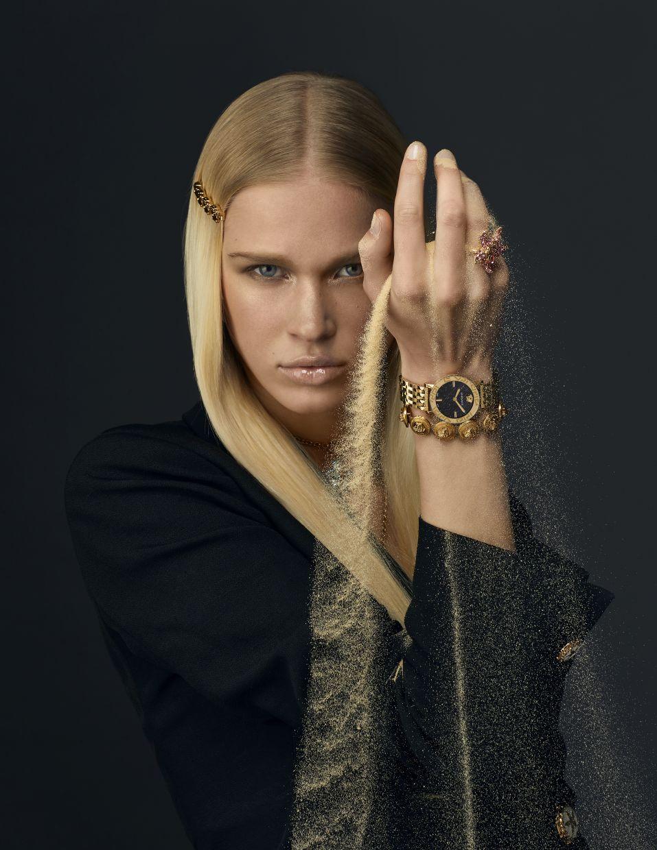 Versace's Greca Glass Watch. — Versace
