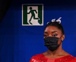 Gymnastics-Biles says gymnastics not everything, 'we also have to focus on ourselves'
