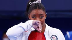 Athleta, sponsor of U.S. Olympic gymnast Simone Biles, says it stands by her