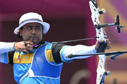Superb comeback by archer Khairul to reach last 16 in Tokyo