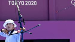 Olympics-Archery-S.Korea's Jang knocked out in surprise loss to Japan's Nakamura