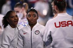 It finally all becomes too much for Olympian Biles