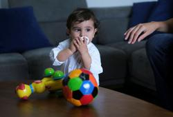 A source of strength and hope, baby George turns one with Beirut blast