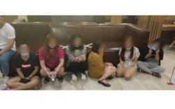 Ipoh Immigration arrest seven for prostitution at Jalan Raja Ekram hotel