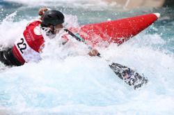 Olympics-Canoeing-Women paddle into history in slalom heats