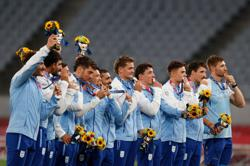 Olympics-Rugby-Argentina's passion fires them to