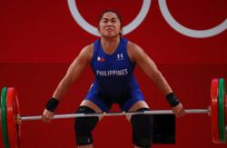 Philippine Air Force promotes Hidilyn Diaz after Olympics win