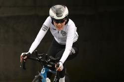 Olympics-Cycling-From stones to plaudits for refugee team's Ali Zada