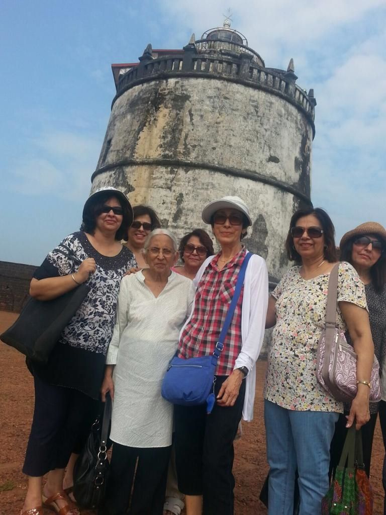 Some of the members of the Saheli Club of Kuala Lumpur went for a trip to Goa in 2015.