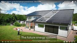 Swedish engineer builds world's first hydrogen-powered house