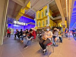 Curtain up!: arts centre PJPac 'reopens' as a vaccination centre