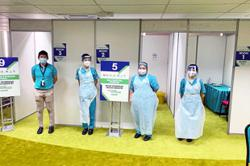 Hospital group's eight branches equipped and ready to vaccinate 600 people a day