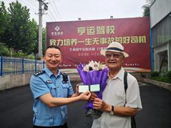 Man gets his driver's licence at age 85