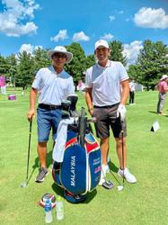 Daddy, caddy cool – Gary feels blessed to be by Gavin's side