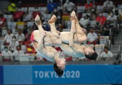 China win hattrick of diving gold, US capture silver